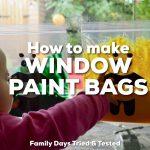 Baby Sensory Window Paint Bags