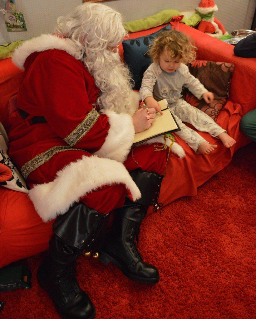 Santa and Noah