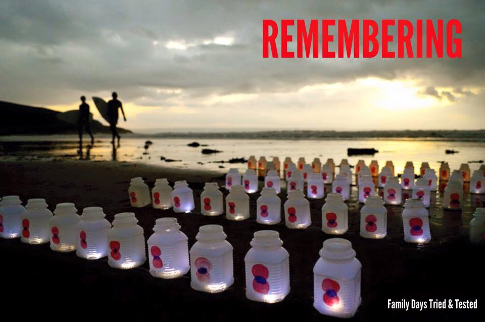 Remembrance Day Poppy Activities - Epic Remembrance Day Beach Activity