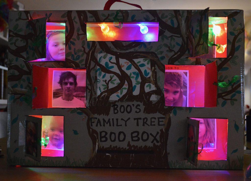 Family Tree Peek a Boo Box