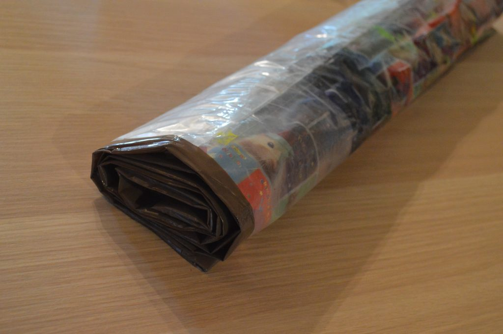 Paint Bag Roll Mat