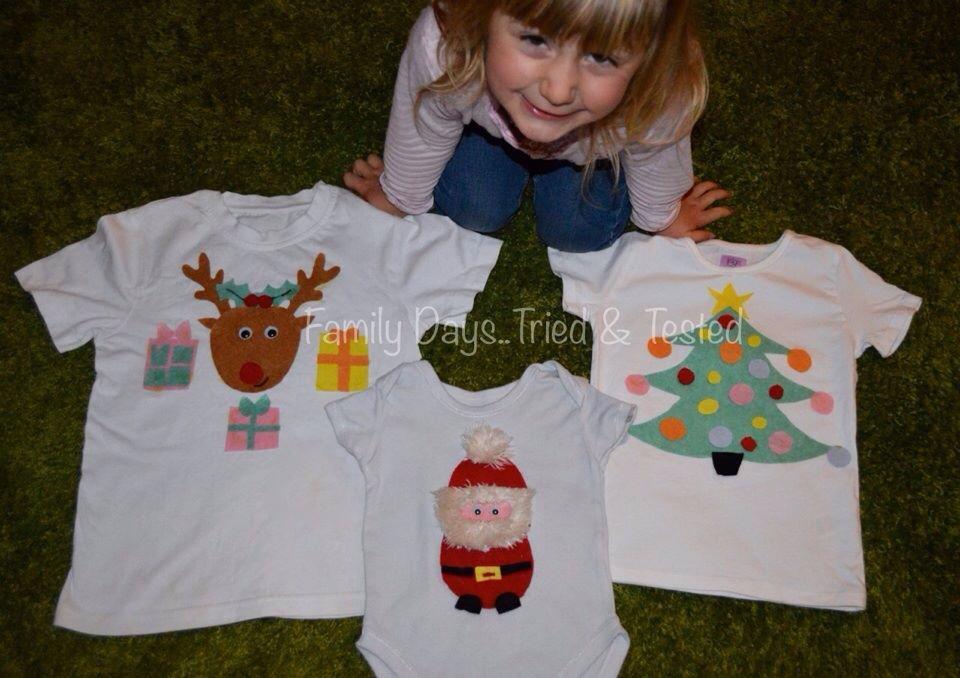 Christmas Activities For Kids - Make your own Christmas pyjamas