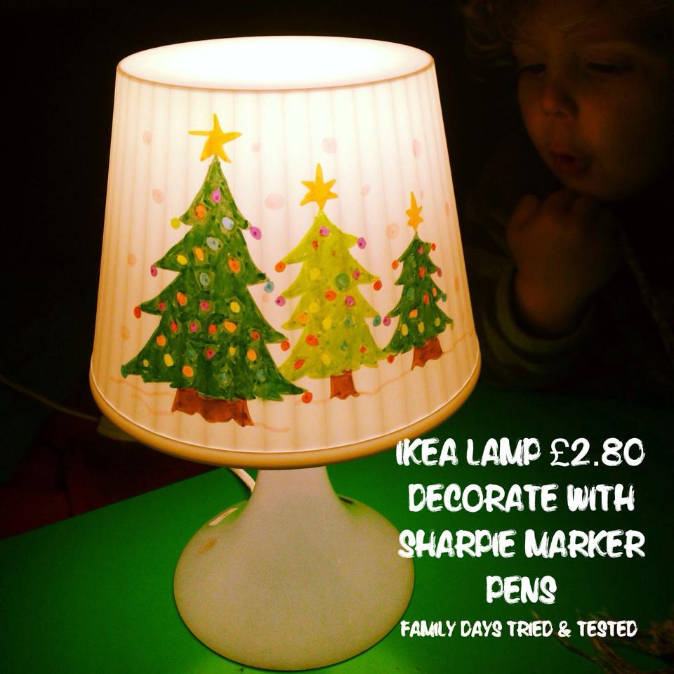 Christmas Activities For Kids - Personalised Christmas night light