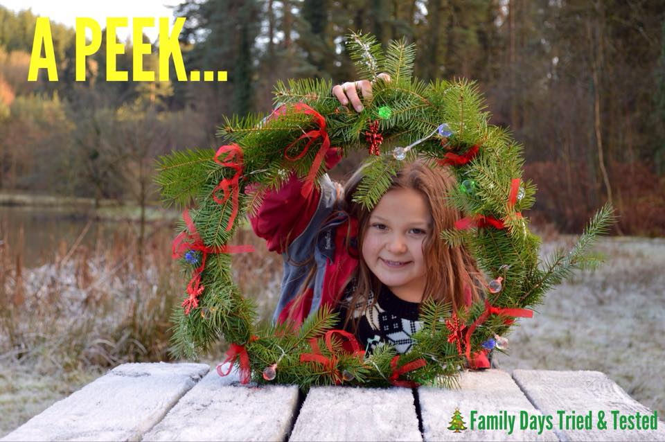 Christmas Activities For Kids - Christmas wreath making