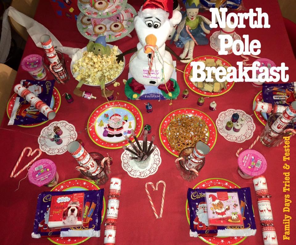 North Pole breakfast
