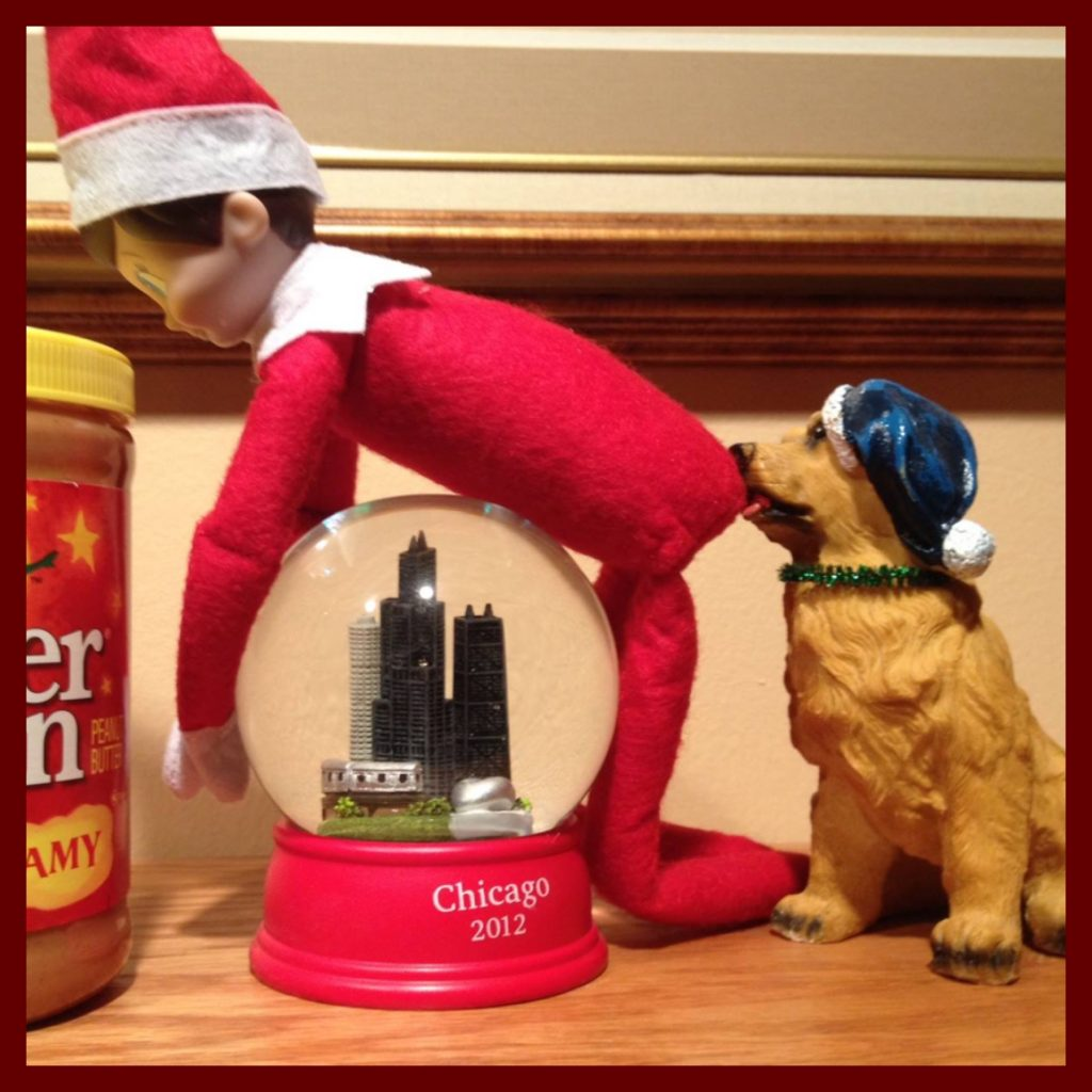 inappropriate Elf on the Shelf Ideas