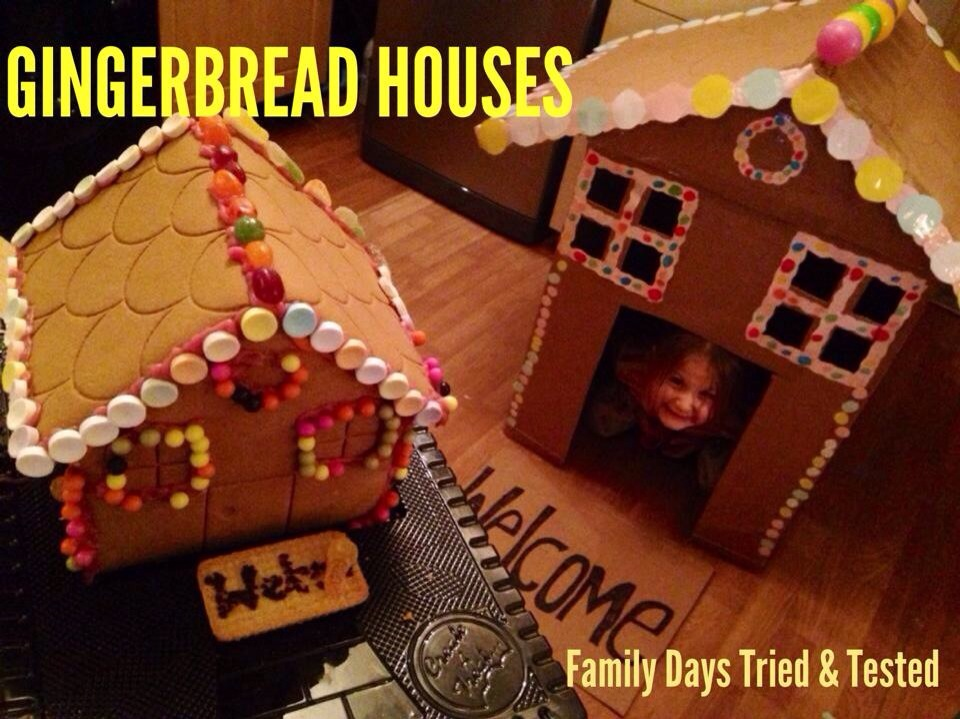 Christmas Activities For Kids - Gingerbread houses