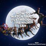 Santa Sleigh Christmas Pass Over Times