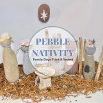 Pebble Nativity