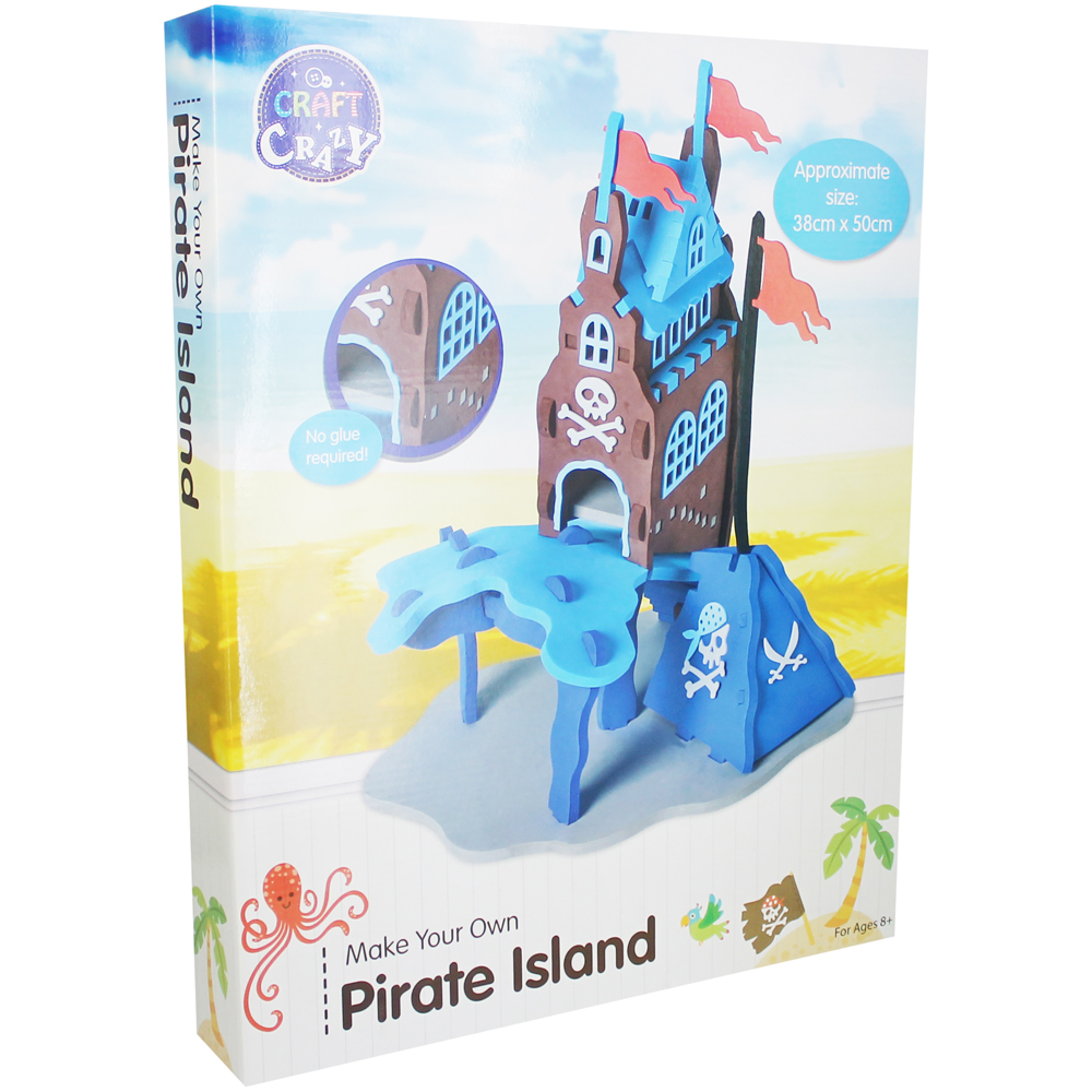 Make Your Own Pirate Island