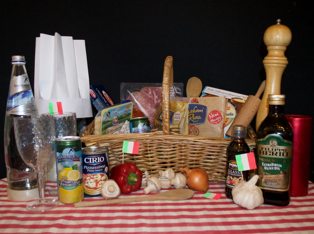Ciao gusto italian hamper challenge family days tried for Gusto italian kitchen