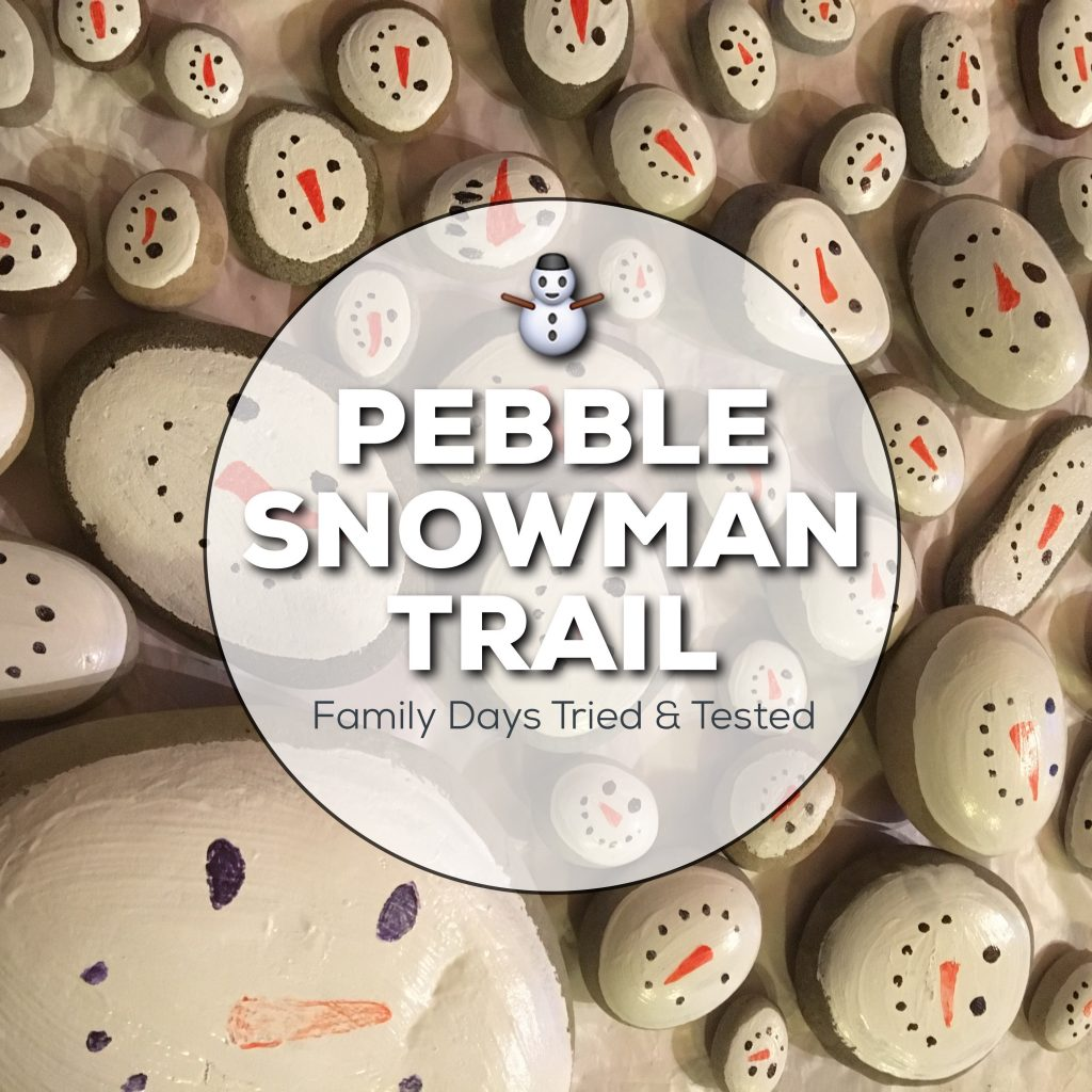 Pebble Snowman Trail