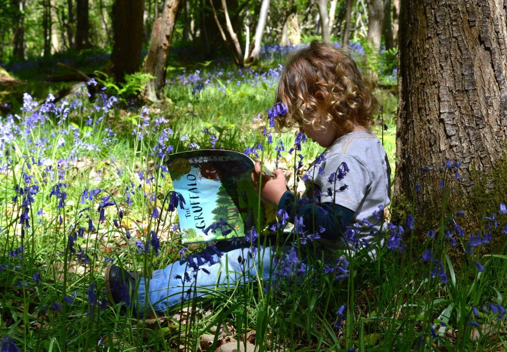 Ways to Get Kids Excited About Walking - reading trail