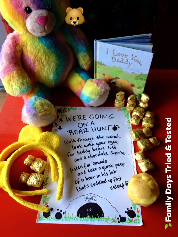 Ways to Get Kids Excited About Walking - Bear Hunt
