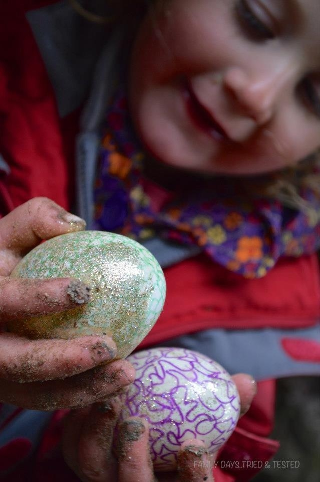 Ways to Get Kids Excited About Walking - dragon egg hunt