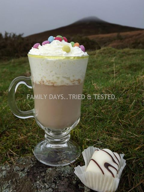 Ways to Get Kids Excited About Walking - hot chocolate