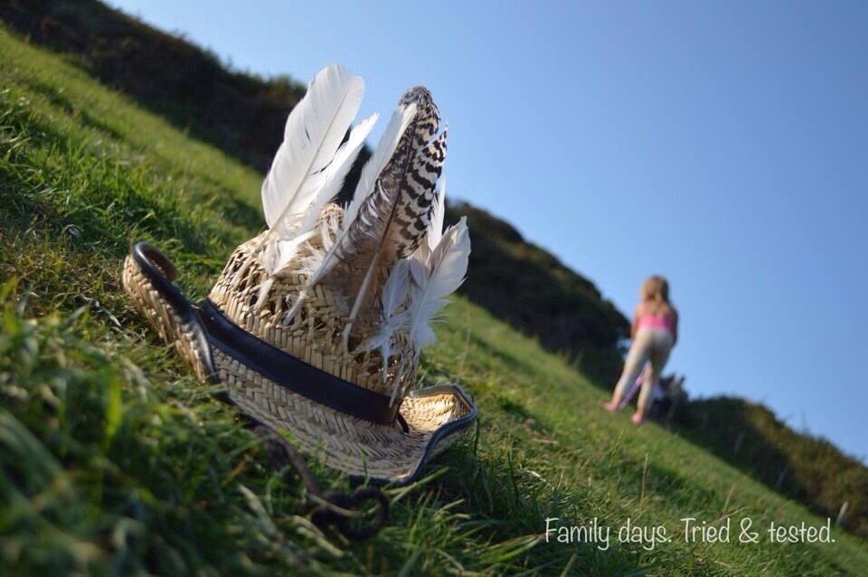 Ways to Get Kids Excited About Walking - Feather Hunt