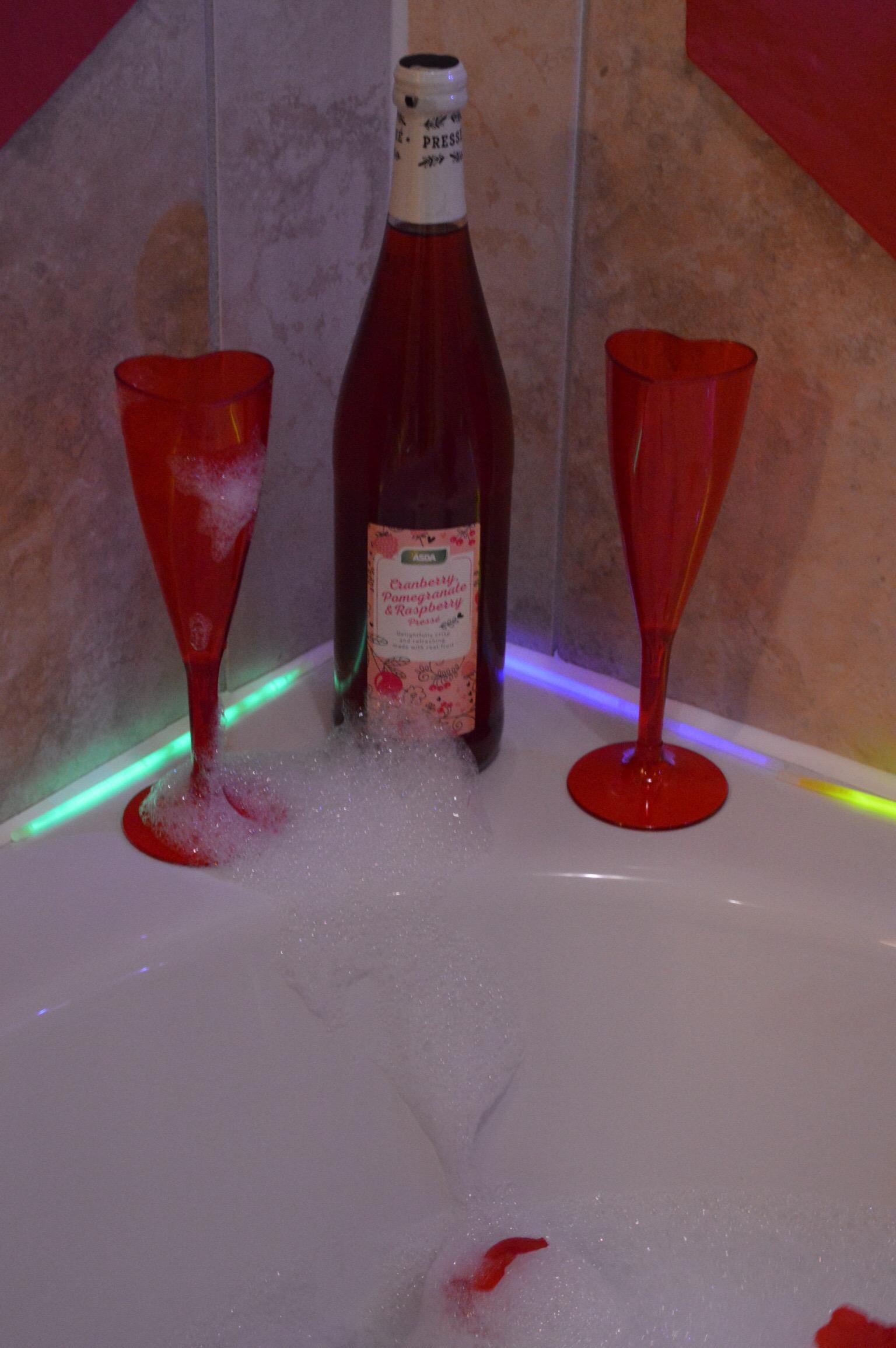 Valentines Themed Baths