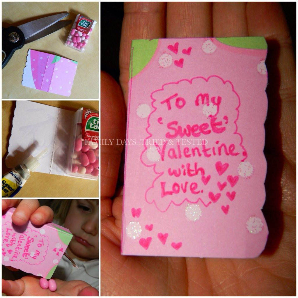 Tic Tac Love Book - Valentine's Day Ideas