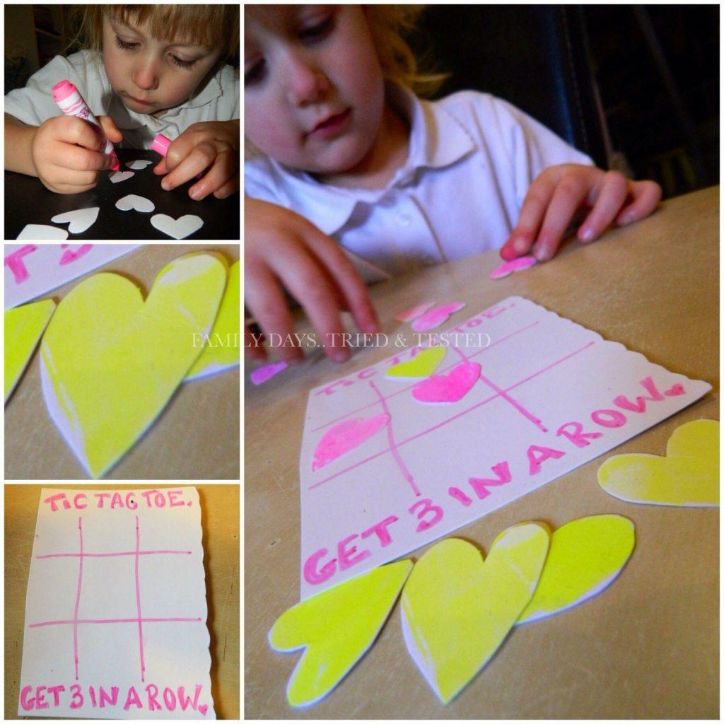 Valentine 3 in a Row - Valentine's Day Ideas