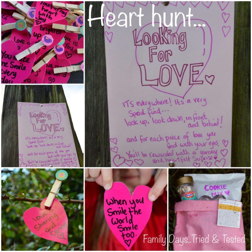 Heart Hunt - Valentine's Day Ideas