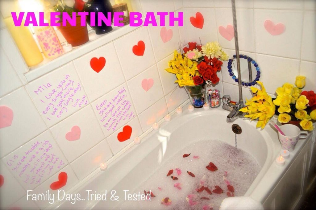 Valentine Bath - Valentine Day's Ideas