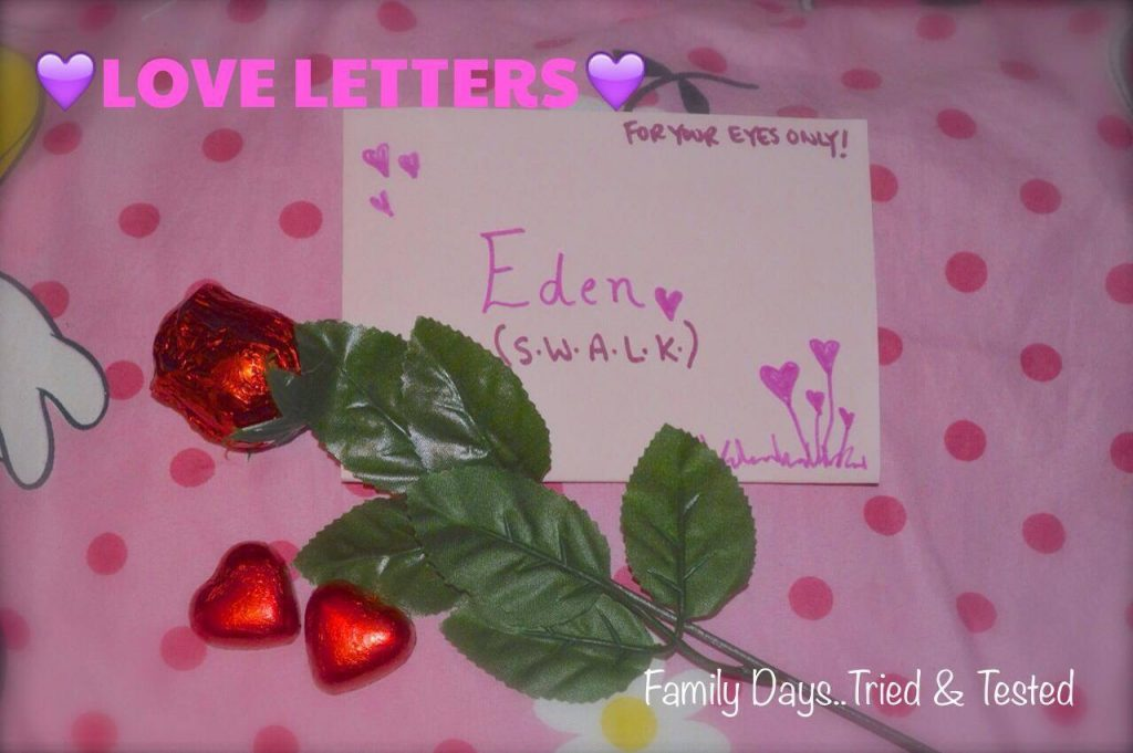 Love letters - Valentine's Day Ideas