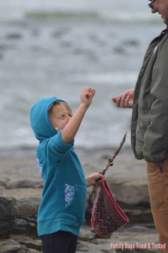 Ways to Get Kids Excited About Walking - gem hunt