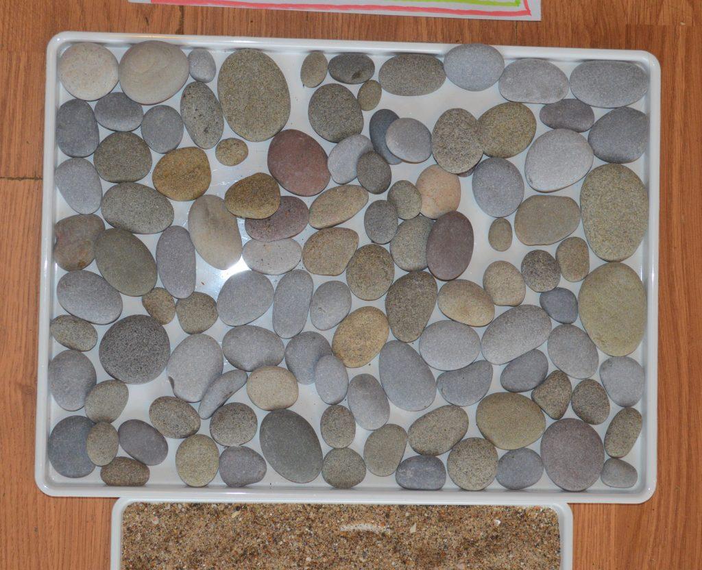 Sensory Walkway - pebbles