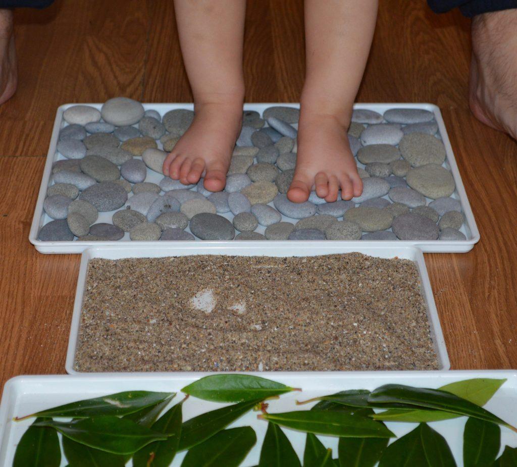 Toddler sensory walkway