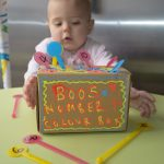 Toddler Number & Colour Sorter