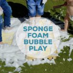 Sponge Foam Bubble Play