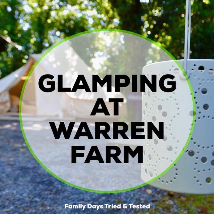 Glamping at Warren Farm
