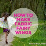 How To Make Fabric Fairy Wings