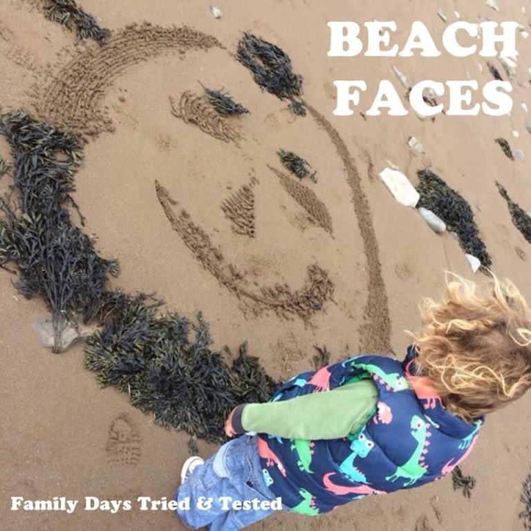 Make beach faces
