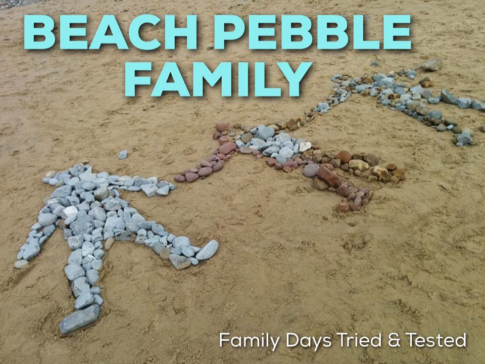 beach pebble family