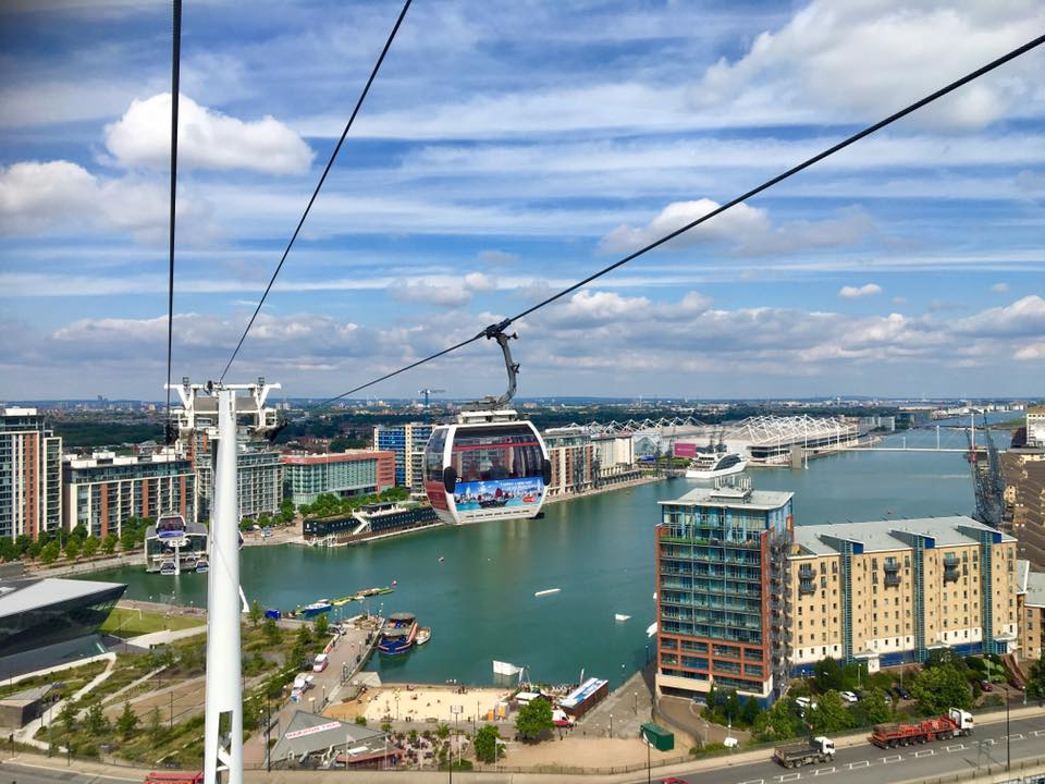 Emirates Airline - London cable car