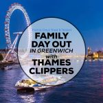 Family Day Out in Greenwich with Thames Clippers
