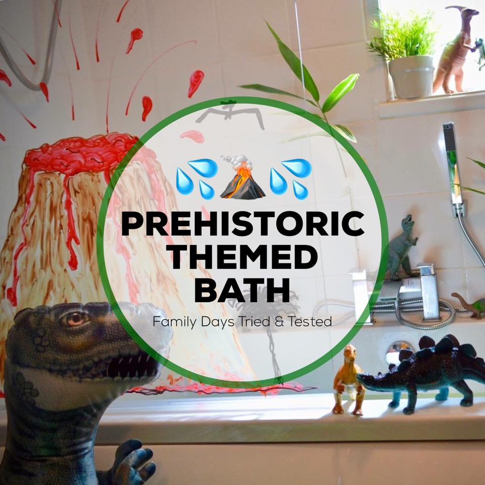 Delicieux Prehistoric Themes Bath Time