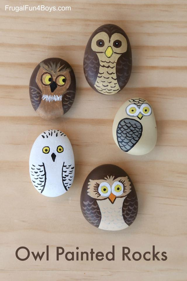rock crafts ideas awesome and easy rock painting ideas for family 2845