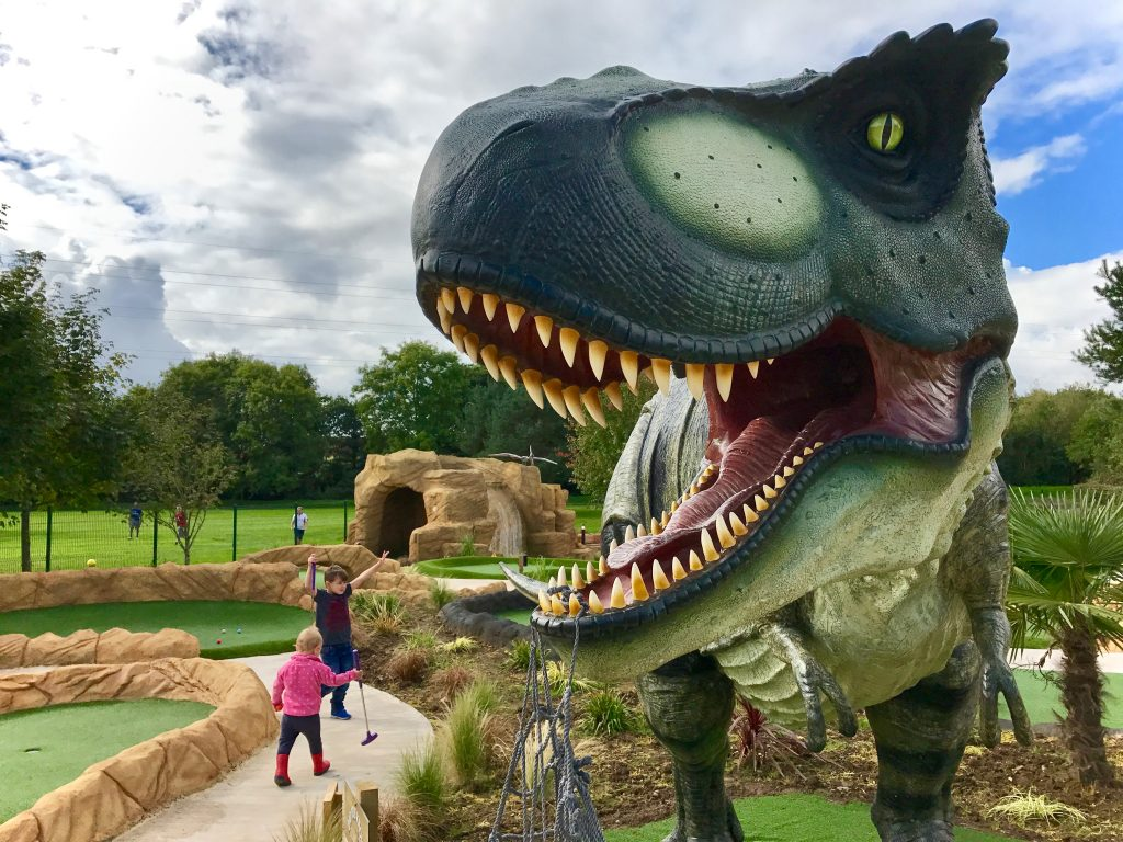 Tee Rex Golf Cardiff