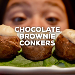 Chocolate Brownie Conkers