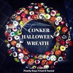Halloween Conker Wreath