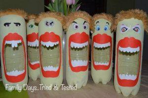 Monster Men Bottle Banks
