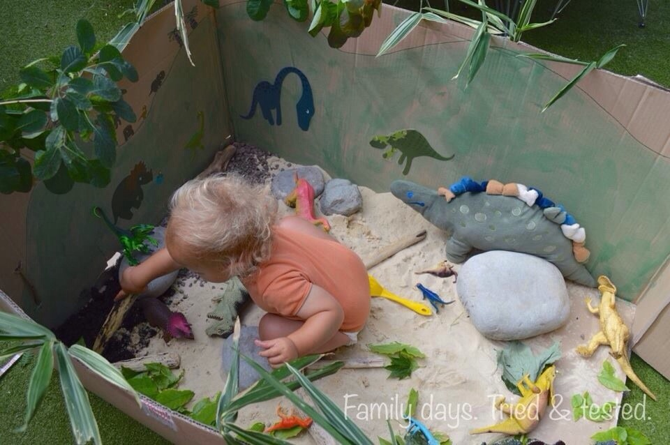 Prehistoric toddler world