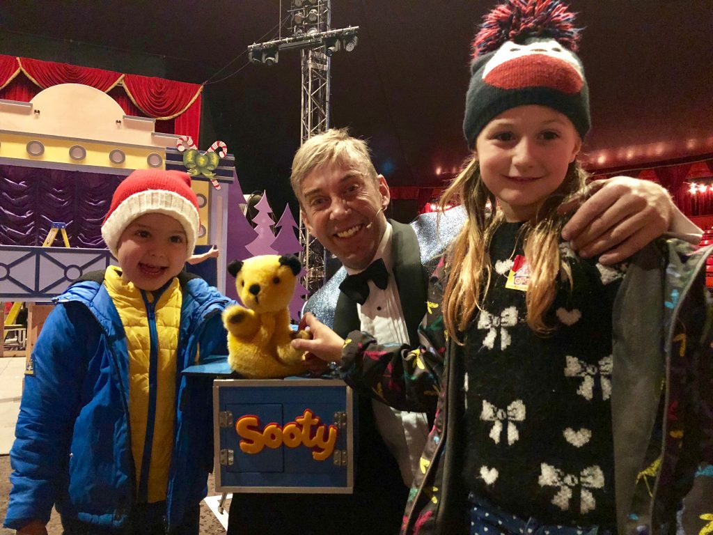 Winter Wonderland London 2017 - Sooty