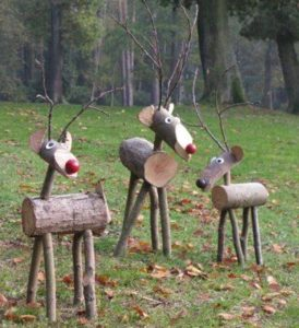 Wooden Garden Reindeer Making Class - school fundraising ideas