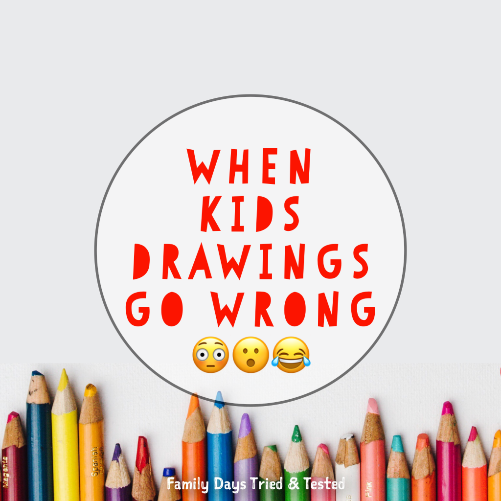 When Kids Drawings Go Wrong