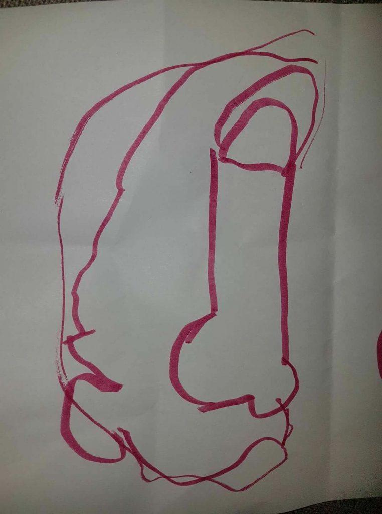 a rocket by Jack, aged 5
