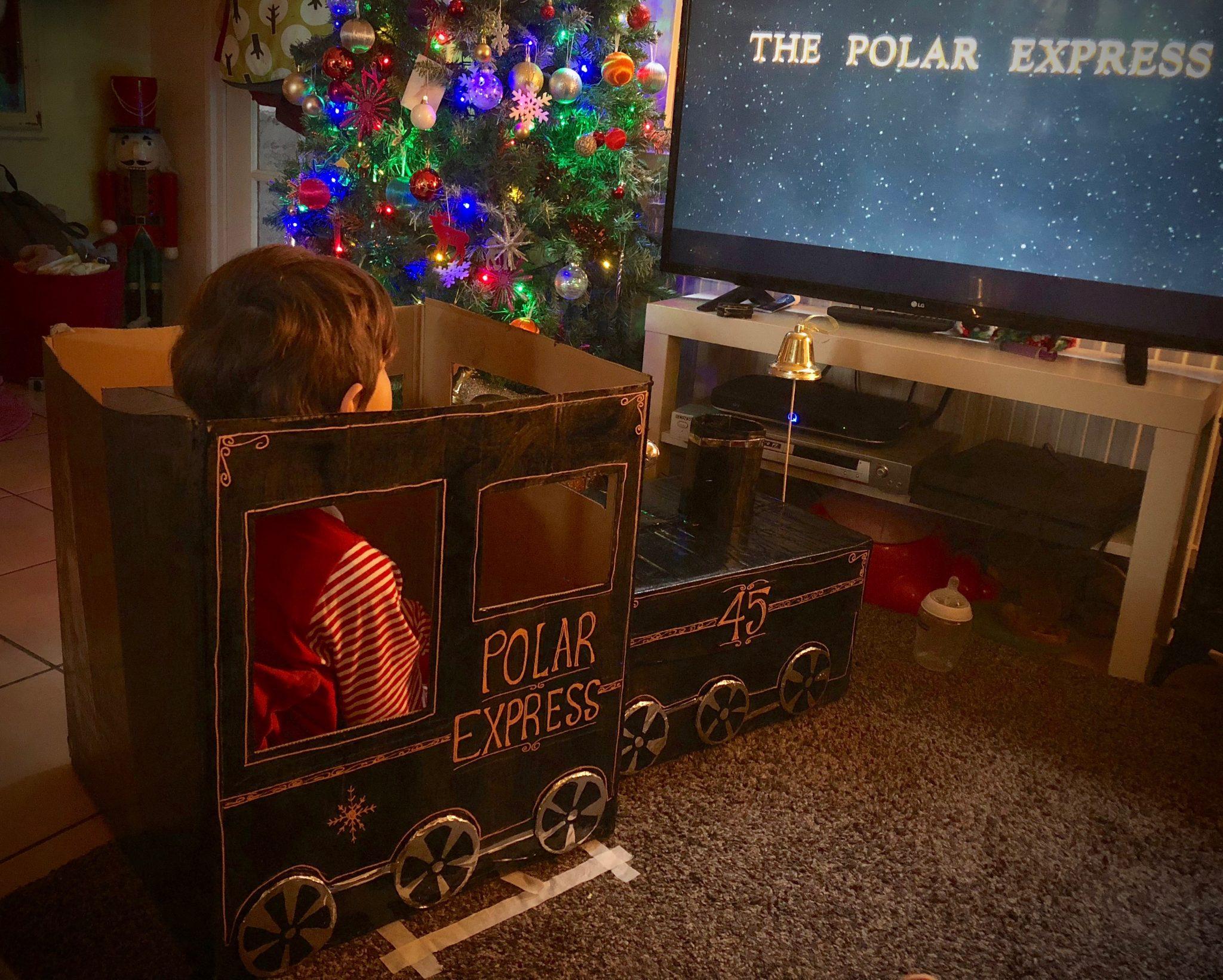 The Polar Express Movie Box Theatre